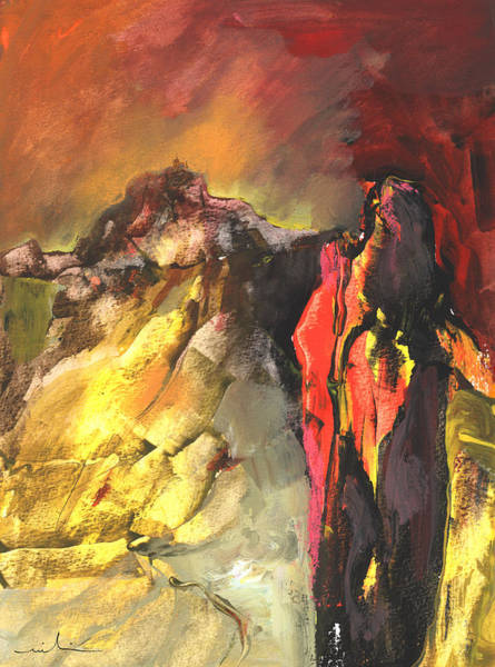 Painting - Mont Sinai by Miki De Goodaboom