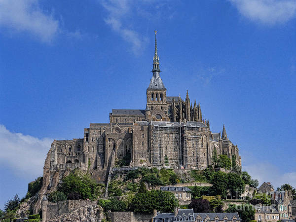 Photograph - Mont St. Michel View by Crystal Nederman
