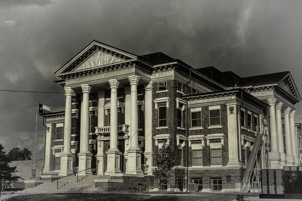 Photograph - Montague County Courthouse by Joan Carroll