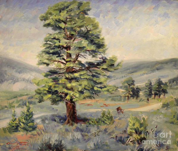 Painting - Montana Grazer 1935 by Art By Tolpo Collection