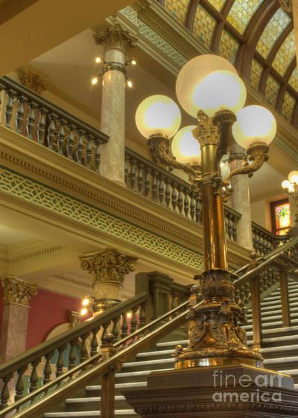 Senate Photograph - Montana State Capitol by Juli Scalzi