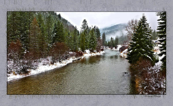 Photograph - Montana Winter Frame by Susan Kinney