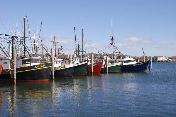 Photograph - Montauk Fishing Boats by Bradford Martin