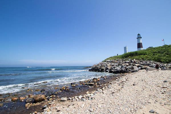 Photograph - Montauk Lighthouse Long Island New York by Susan Jensen