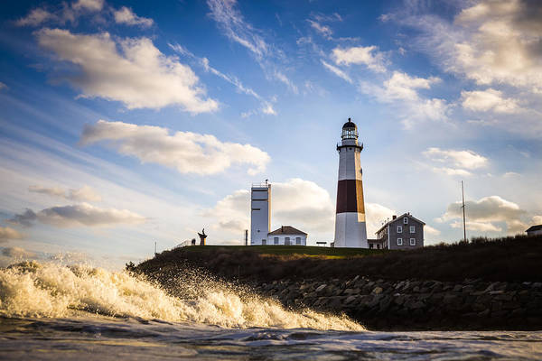 Wall Art - Photograph - Montauk Lighthouse Sunset by Ryan Moore