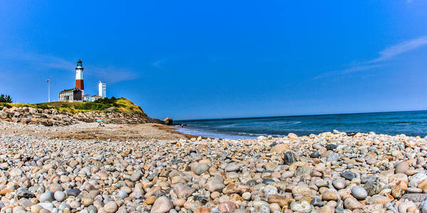 Photograph - Montauk Point Lighthouse by Dave Hahn