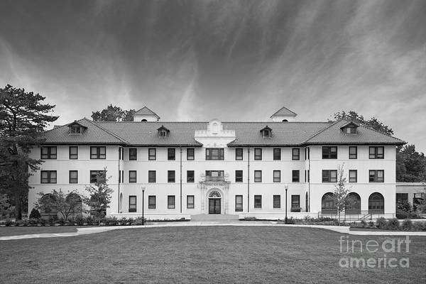 Photograph - Montclair State University Edward Russ Hall by University Icons