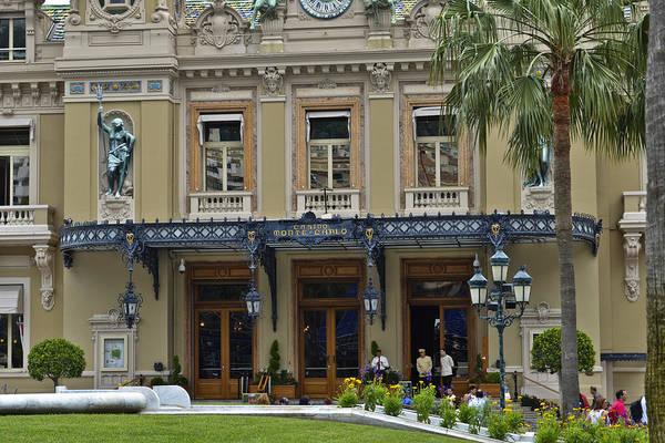 Photograph - Monte Carlo Casino by Allen Sheffield