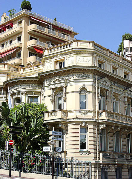 Photograph - Monte Carlo Old And New by Julie Palencia