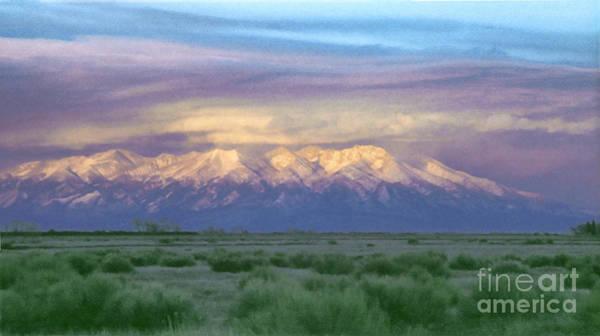 Painting - Monte Vista Sunrise 1 by Teri Brown