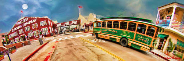 Photograph - Monterey And Cable Car Bus by Blake Richards