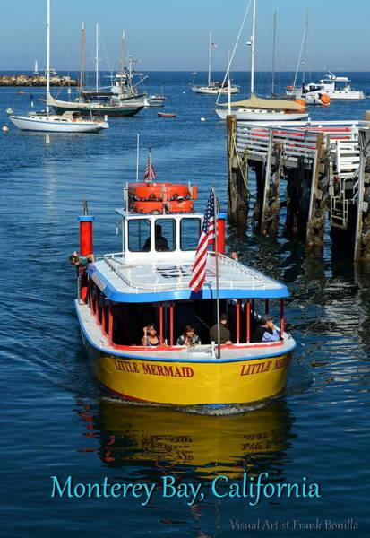 Digital Art - Monterey Bay II by Visual Artist Frank Bonilla