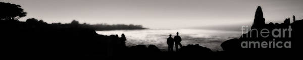 Painting - Monterey California - Silhouette Sunset by Gregory Dyer