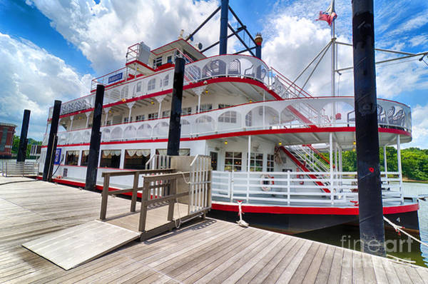 Photograph - Montgomery Alabama Riverboat by Danny Hooks