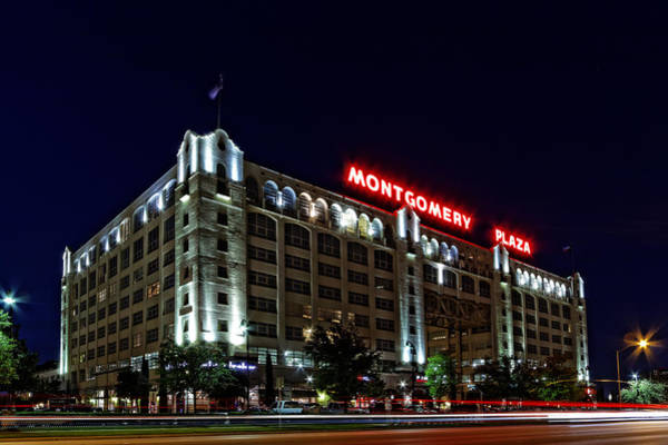 Montgomery Plaza Fort Worth Art Print