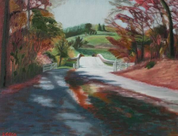 Monticello Painting - Monticello Bridge by Robert Sesco