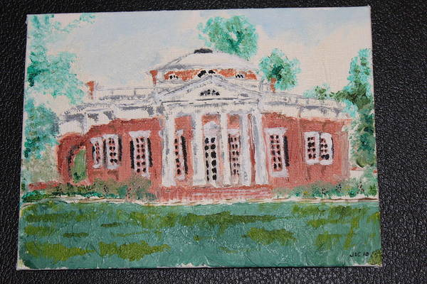 Monticello Painting - Monticello by John Clayton