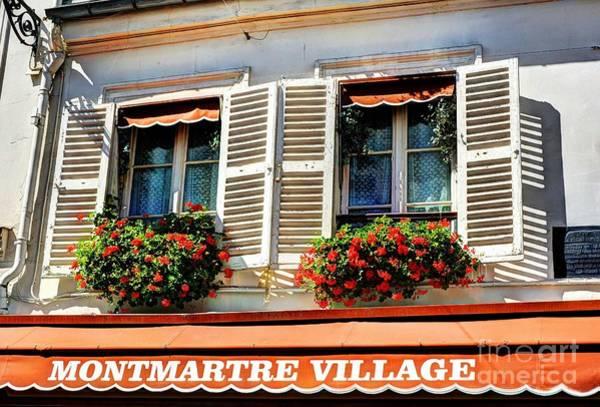 Photograph - Montmartre In Paris by Mel Steinhauer