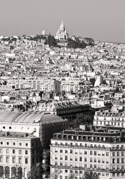 Photograph - Montmartre Paris Black And White by Pierre Leclerc Photography