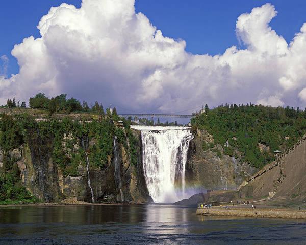 Quebec Photograph - Montmorency Falls, Quebec, Canada by Hans-peter Merten