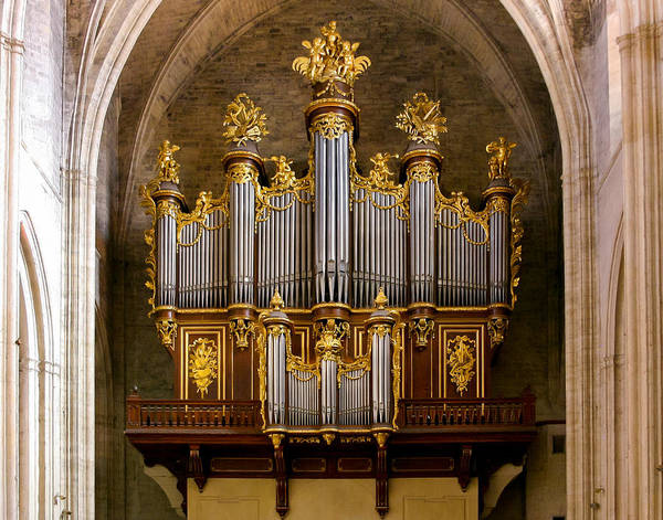 Photograph - Montpellier Organ by Jenny Setchell