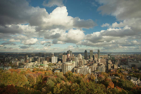 Quebec City Photograph - Montreal, Cloudy Autumn Day by Ryan Reisert Photography