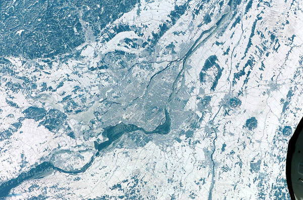 Lawrence Photograph - Montreal by Nasa/science Photo Library