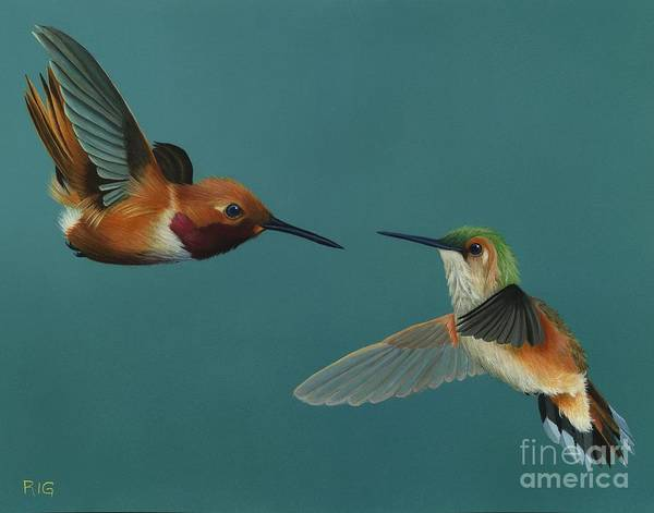 Painting - Monty And Tiffany by Rosellen Westerhoff