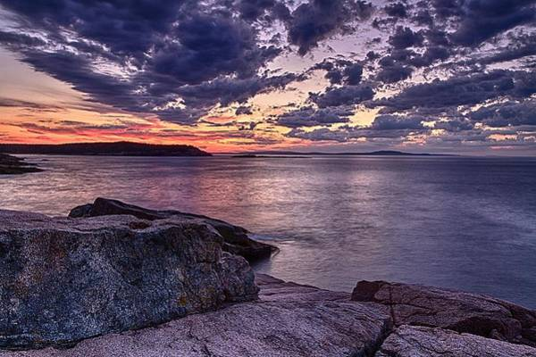 Photograph - Monument Cove Sunrise by Jeff Sinon