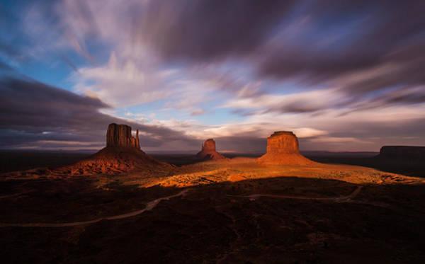 Photograph - Monument Skys by Tassanee Angiolillo