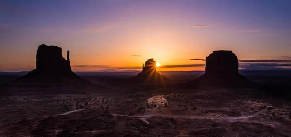 Photograph - Monument Sunrise by Tassanee Angiolillo