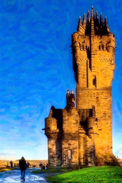 Photograph - Monument To The Legendary William Wallace by Mark Tisdale