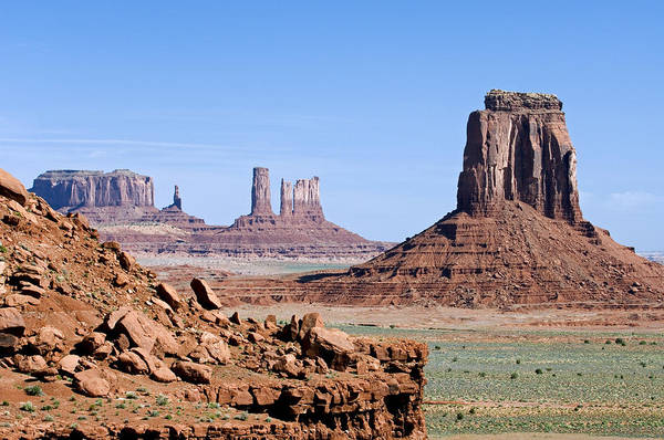 Photograph - Monument Valley 10 by Arterra Picture Library