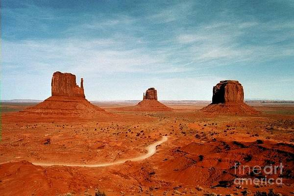 Photograph - Monument Valley by The Art of Alice Terrill