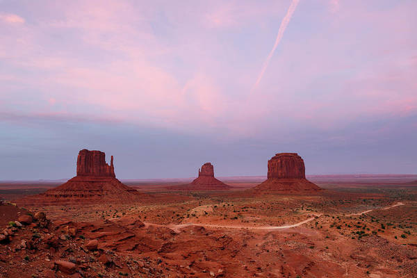 The Mitten Photograph - Monument Valley by Anne Clements