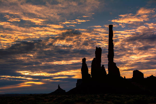Photograph - Monument Valley At Sunrise by Michael Ash