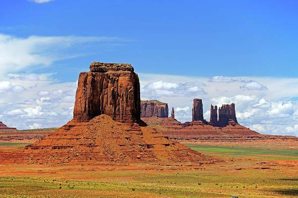 Physical Geography Photograph - Monument Valley Buttes by Bildagentur-online/mcphoto-schulz