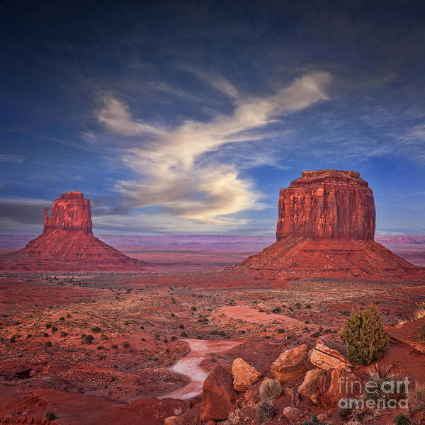 Monument Valley Navajo Tribal Park Wall Art - Photograph - Monument Valley by Colin and Linda McKie