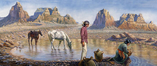 North Dakota Painting - Monument Valley by Gregory Perillo