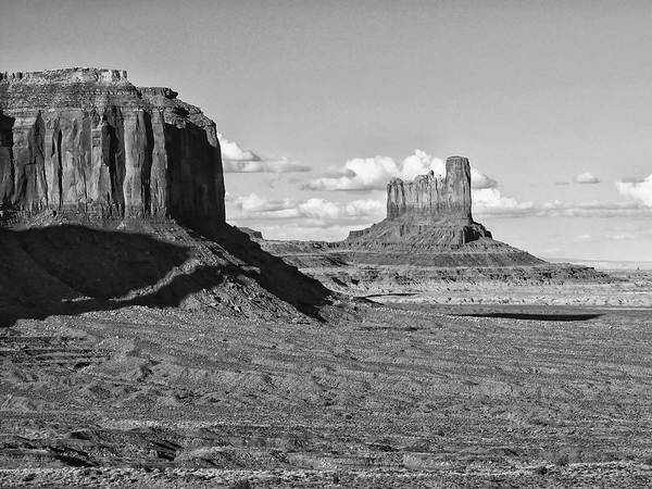 Photograph - Monument Valley  by Harold Rau