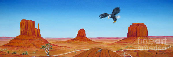 Wall Art - Painting - Monument Valley by Jerome Stumphauzer