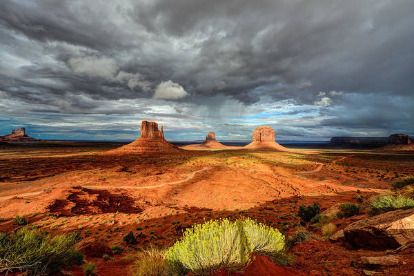 Photograph - Monument Valley by Mark Whitt