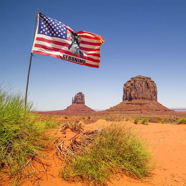 Geologic Formation Photograph - Monument Valley Merrick Butte by Melanie Viola