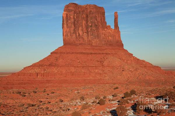 Photograph - Monument Valley Mitten by Adam Jewell