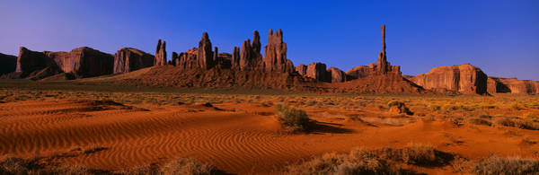 Totem Pole Wall Art - Photograph - Monument Valley National Park, Arizona by Panoramic Images