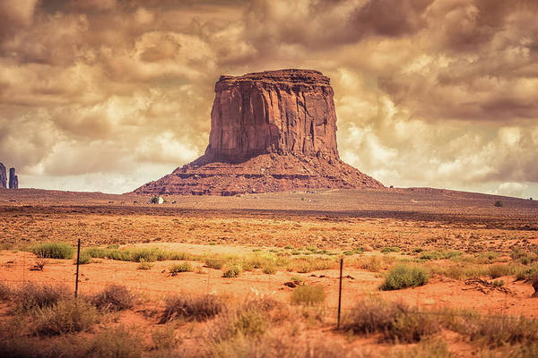 Indigenous People Photograph - Monument Valley National Park Desert by Franckreporter