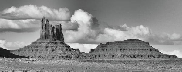 Photograph - Monument Valley Panorama by Harold Rau