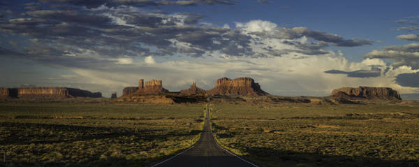 Monument Valley Photograph - Monument Valley Panorama by Steve Gadomski