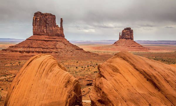 The Mitten Photograph - Monument Valley by Pierre Leclerc Photography