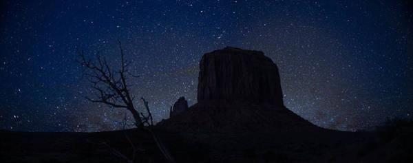 Wall Art - Photograph - Monument Valley Starlight by Steve Gadomski